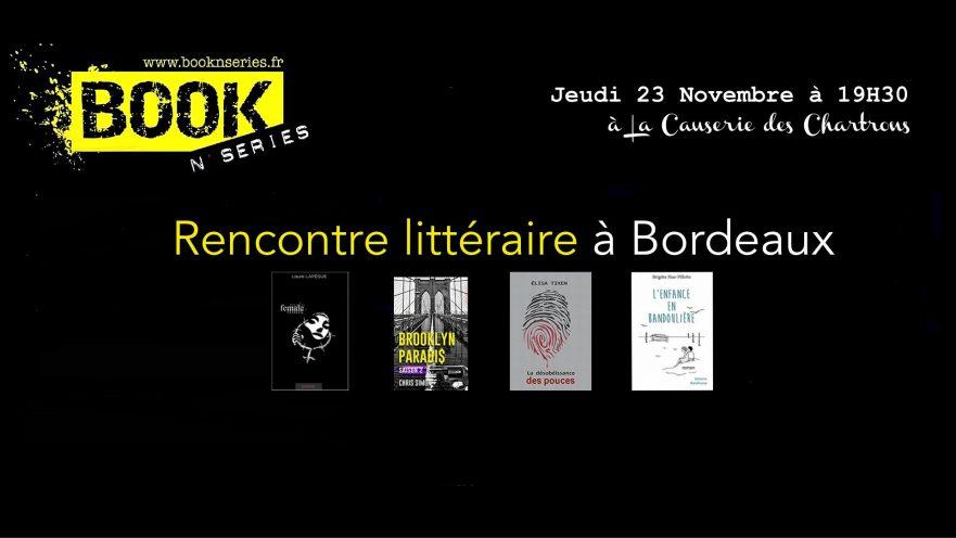 rencontre littéraire Bordeaux